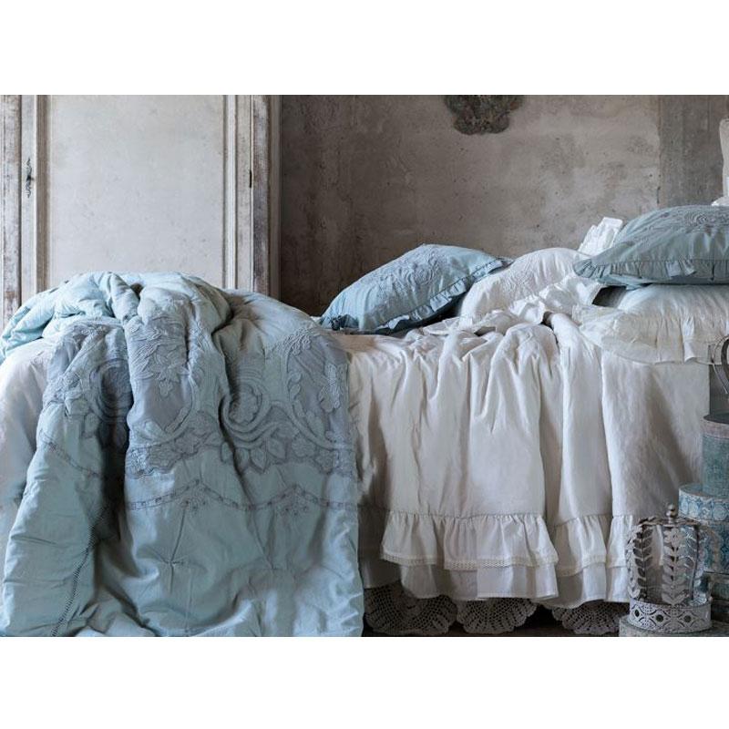 BLANC MARICLO\' QUILT MATRIMONIALE CON COPRIGUANCIALE - Acanfora Home ...